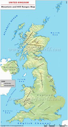 Map Of Mountains In England 562 Best British isles Maps Images In 2019 Maps British isles