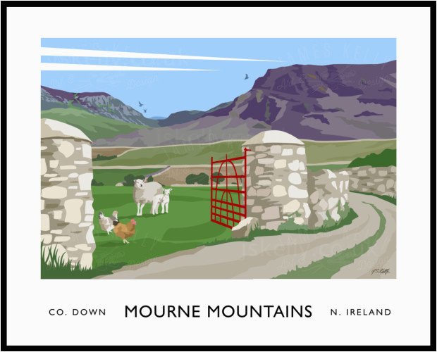 mourne mountains hare s gap