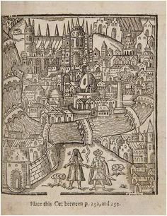 1634 nicolas tassin map nancy fortifications meurthe et moselle