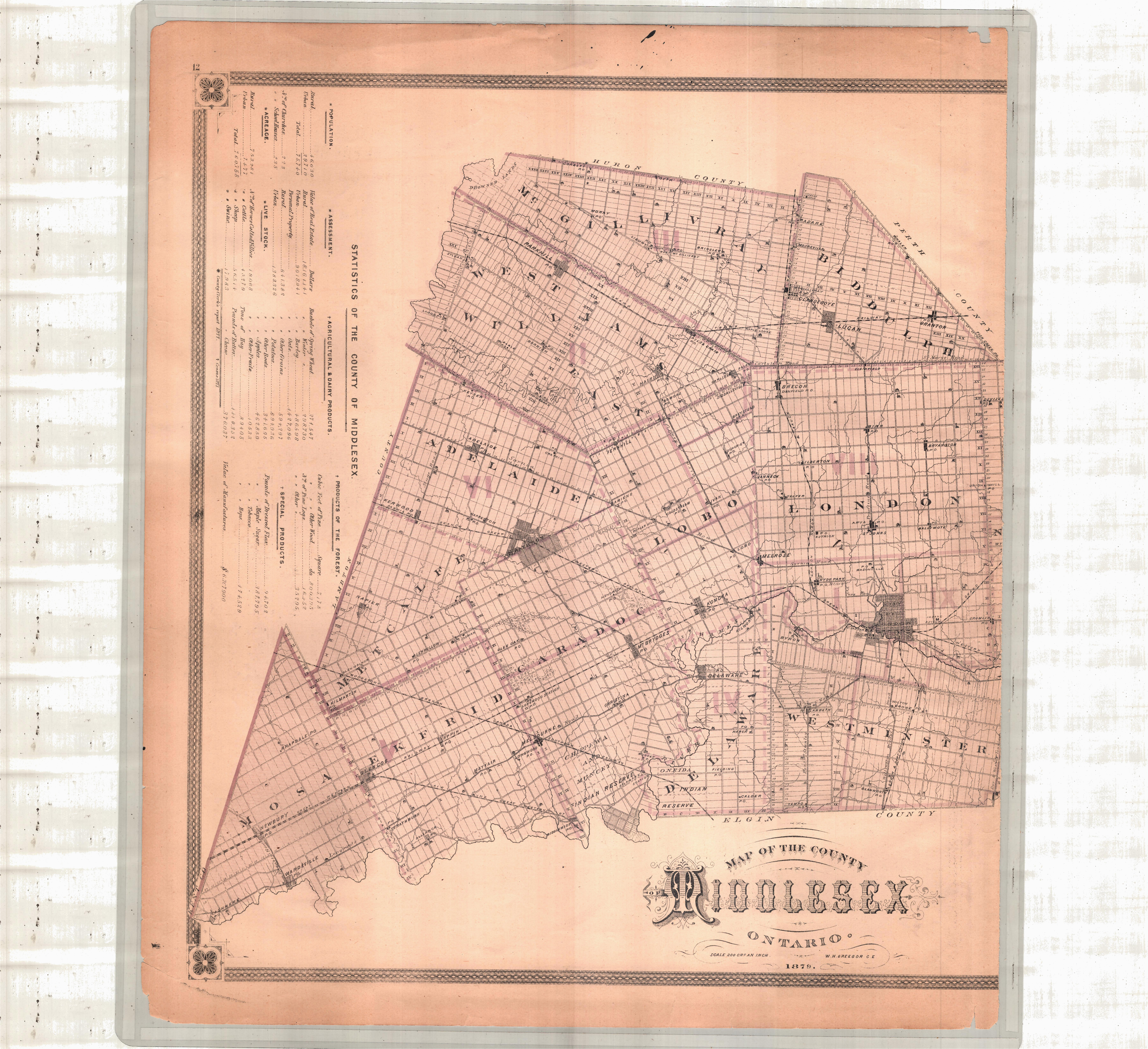 new topographical atlas of the province of ontario canada