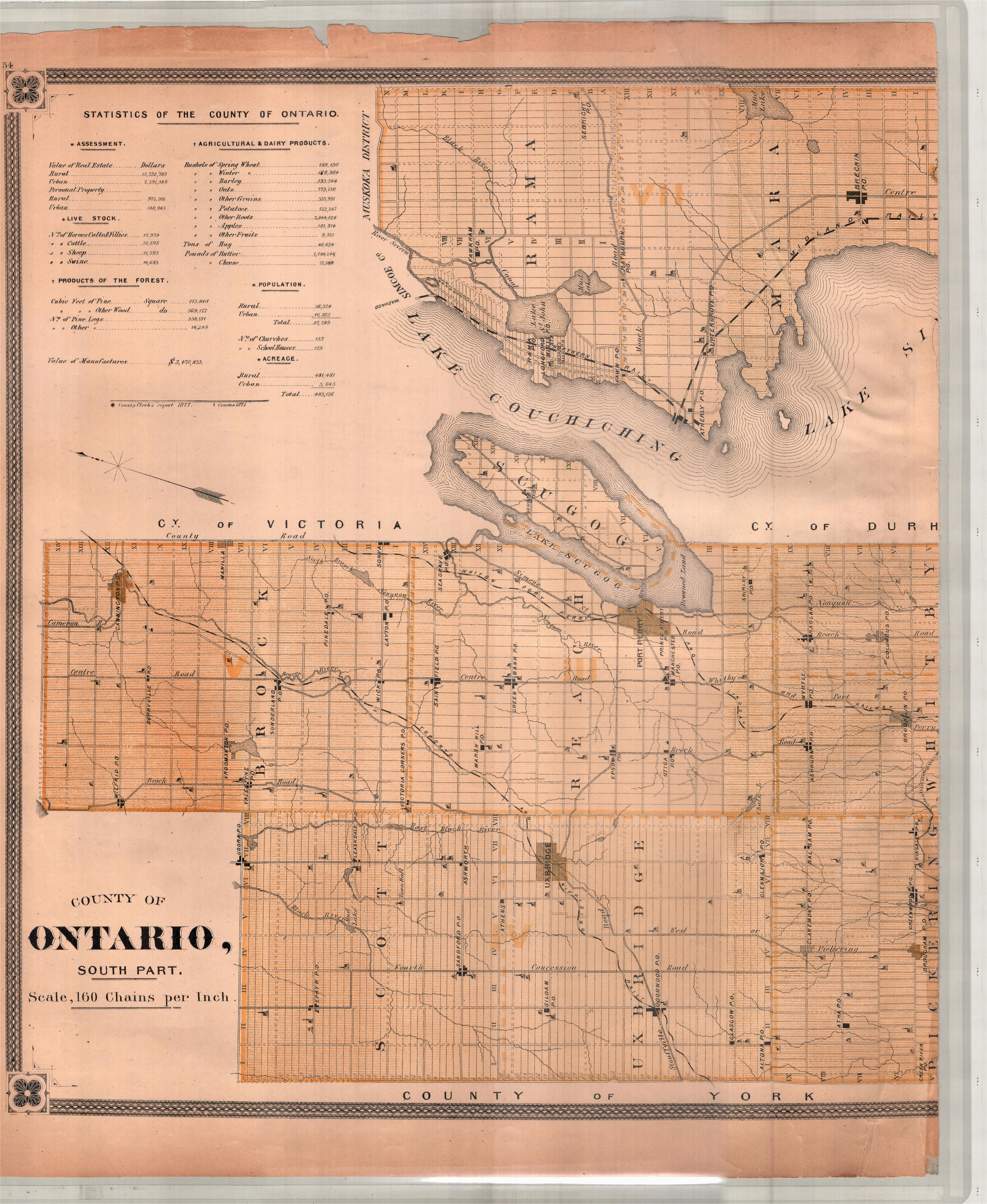 Map Of norfolk County Ontario Canada New topographical atlas Of the Province Of Ontario Canada