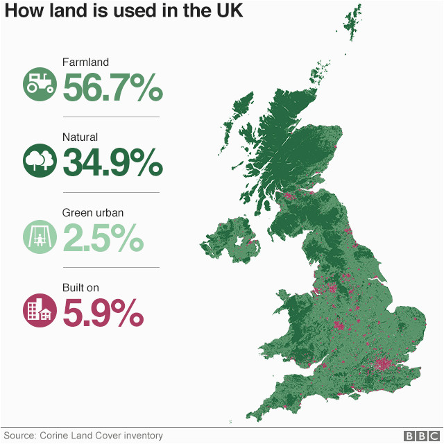 how much of your area is built on bbc news