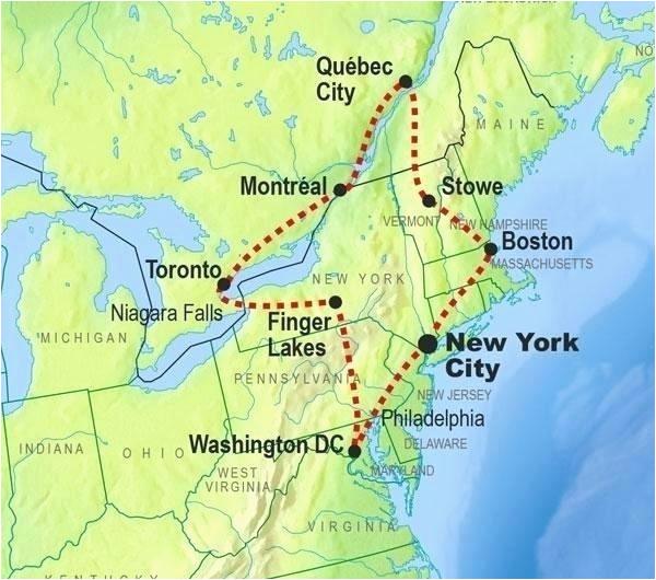 map of northeastern united states pergoladach co