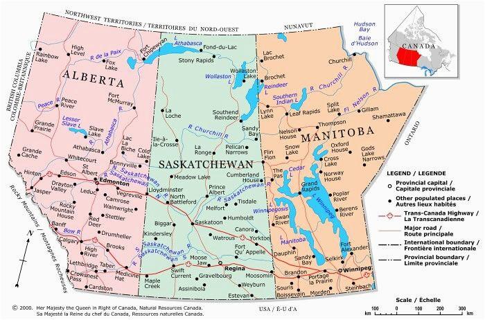 prairie provinces a political map of the prairie provinces