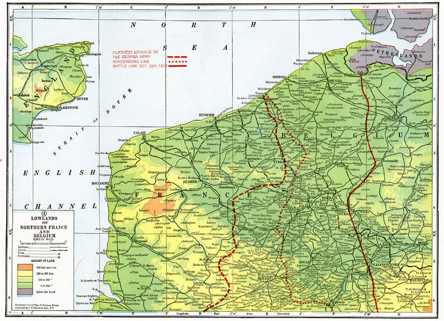 lowlands of northern france and belgium