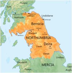 kingdom of northumbria wikivisually