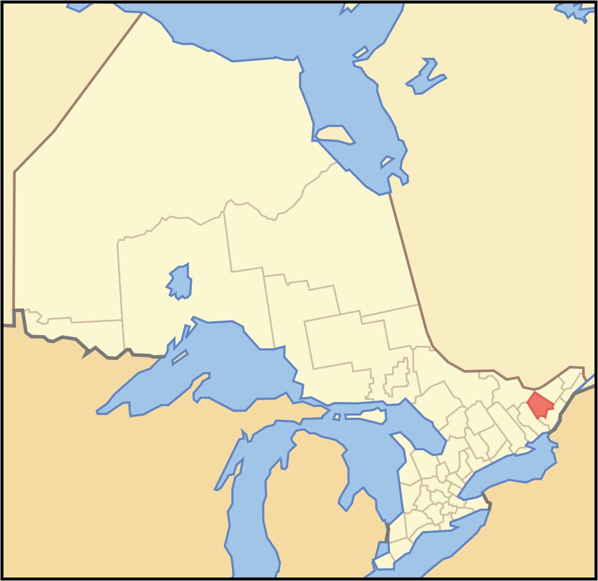 lanark county wikipedia