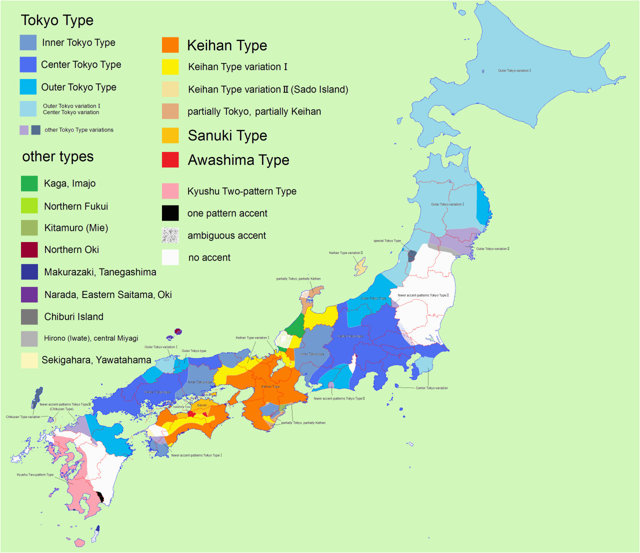 japanese accents and pitches maps map france map map