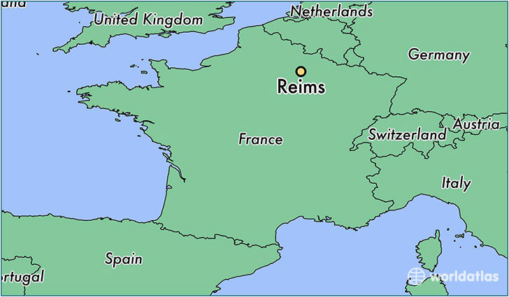 reims france map