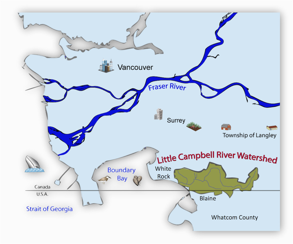 little campbell river watershed a rocha canada