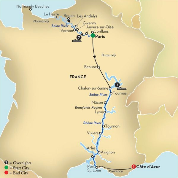 Map Of Rivers Of France Paris Rivers Ra Os Paris River Cruise Seine River Cruise France