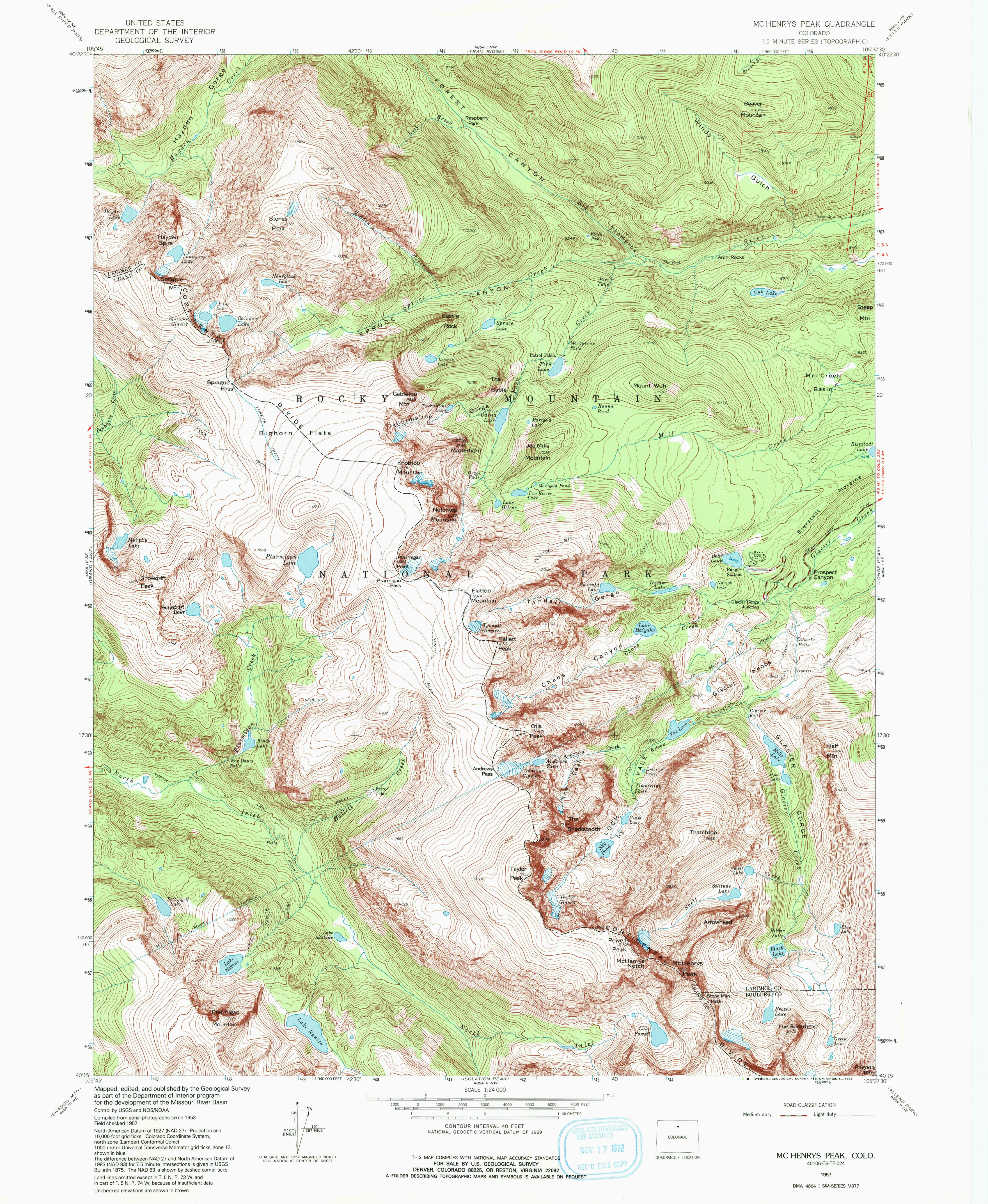 rocky mountain maps npmaps com just free maps period