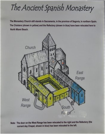 map layout of the monastery picture of the ancient spanish