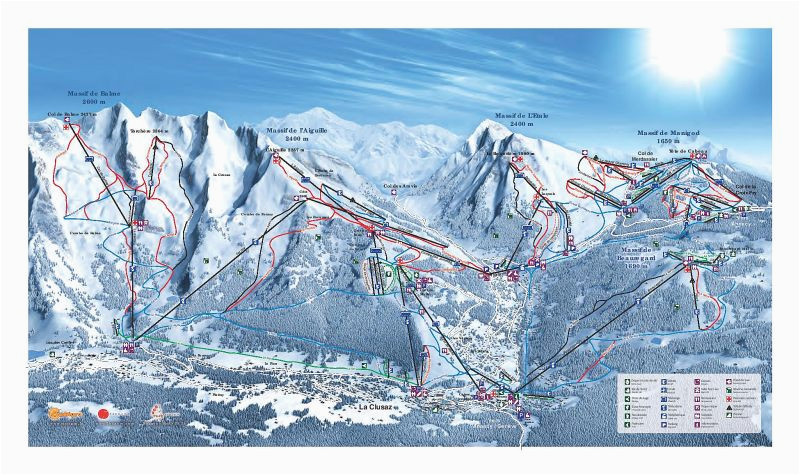 la clusaz ski resort guide location map la clusaz ski