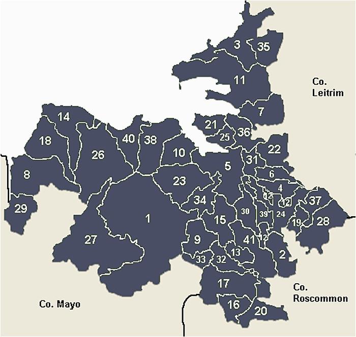 Map Of Sligo Ireland County Sligo Main Page