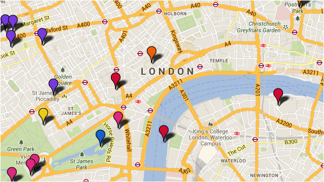 london attractions tourist map things to do visitlondon com