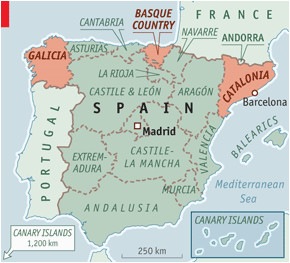 basques map and travel information download free basques map