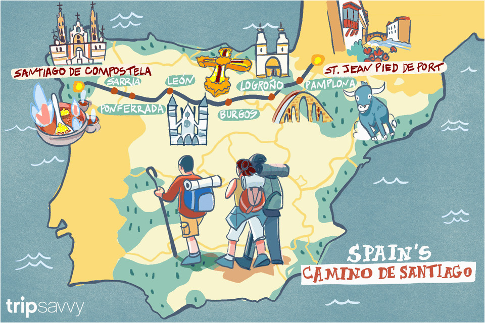 spain s camino de santiago how long the trip takes