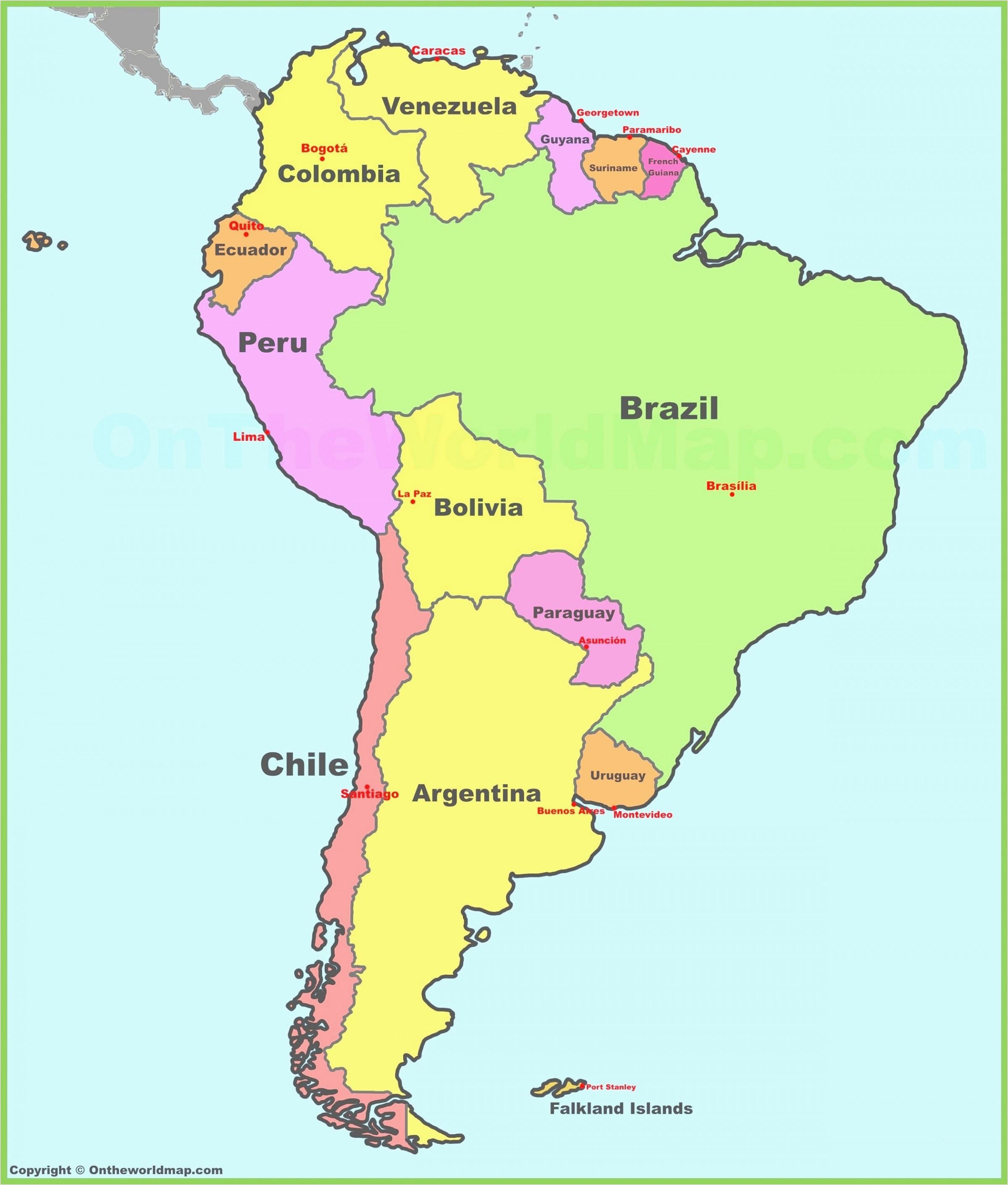 latin america map quiz climatejourney org