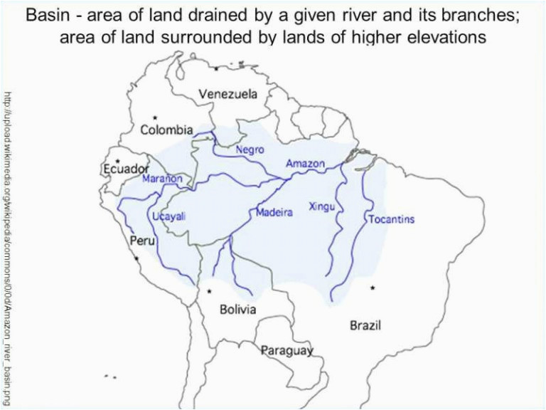 south america map labeled climatejourney org
