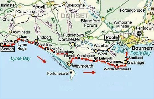 south west coast path dorset jurassic coast