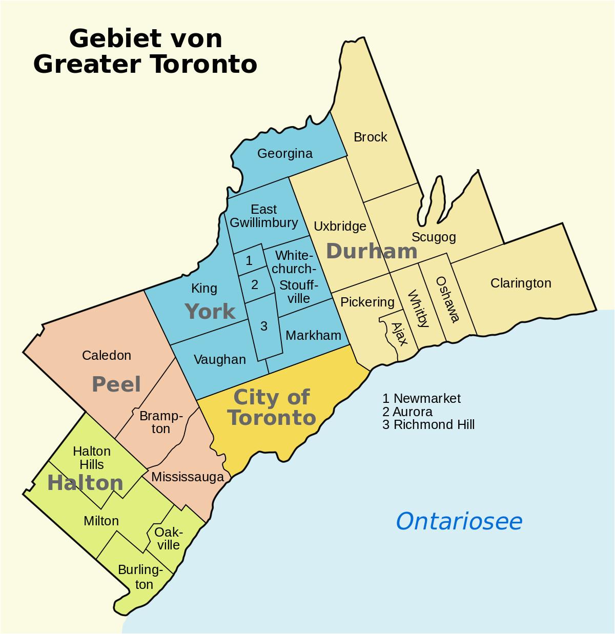 greater toronto area wikipedia