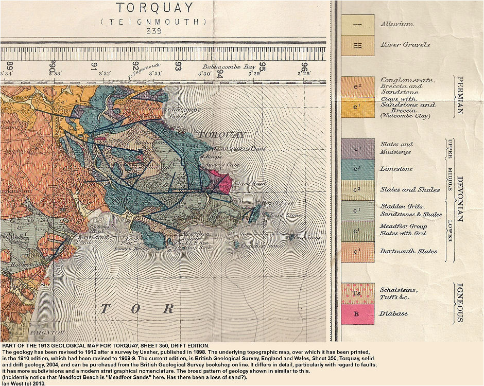 torquay geological field guide by ian west