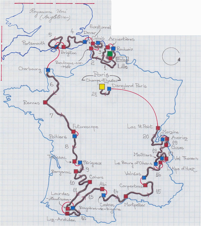 file carte du tour de france 1994 png wikimedia commons