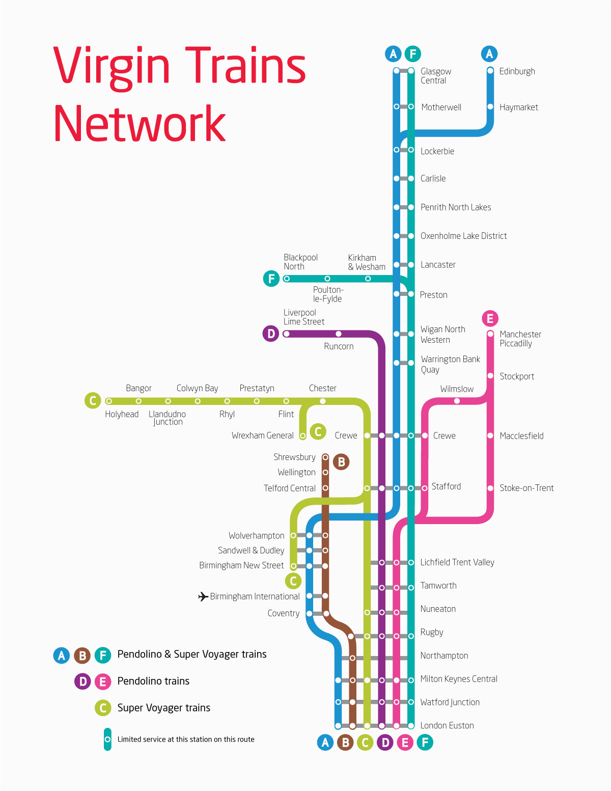 virgin trains uk route map smart transit train map train