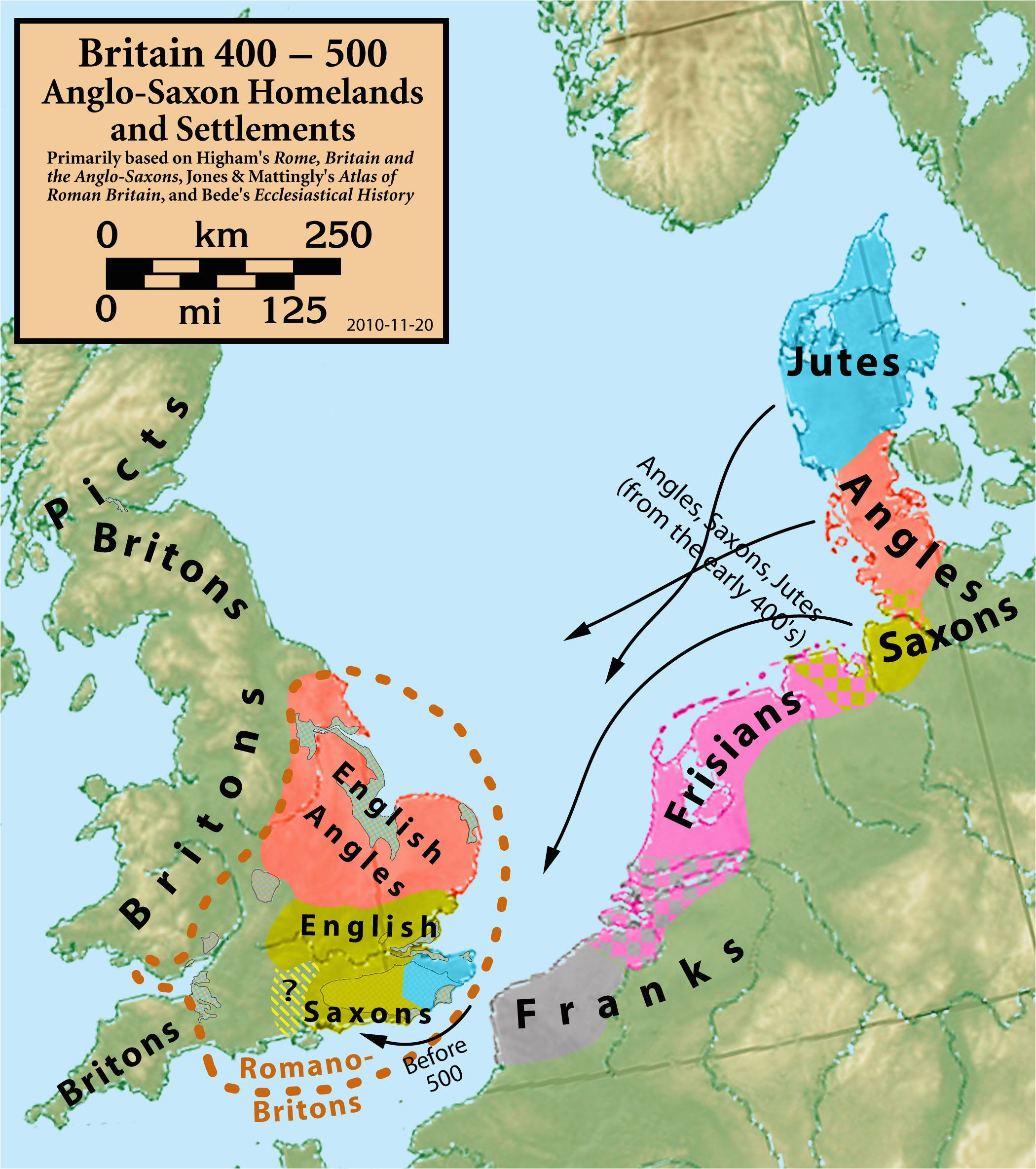 25 maps that explain the english language middle ages map