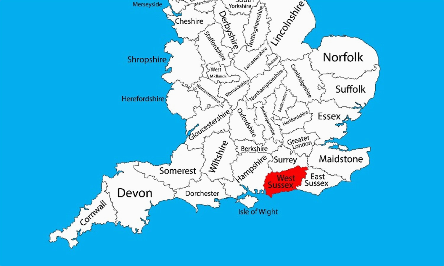 map of uk showing counties best of maps of west sus west sus county