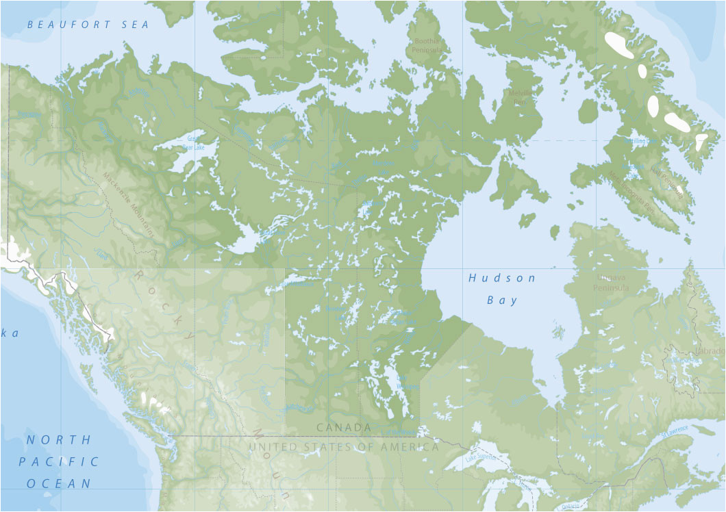 explore canada and alaska by map by canada by design