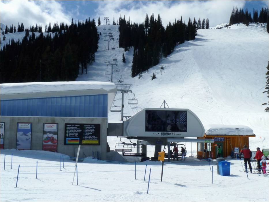 Map Of Whistler Canada Harmony Express