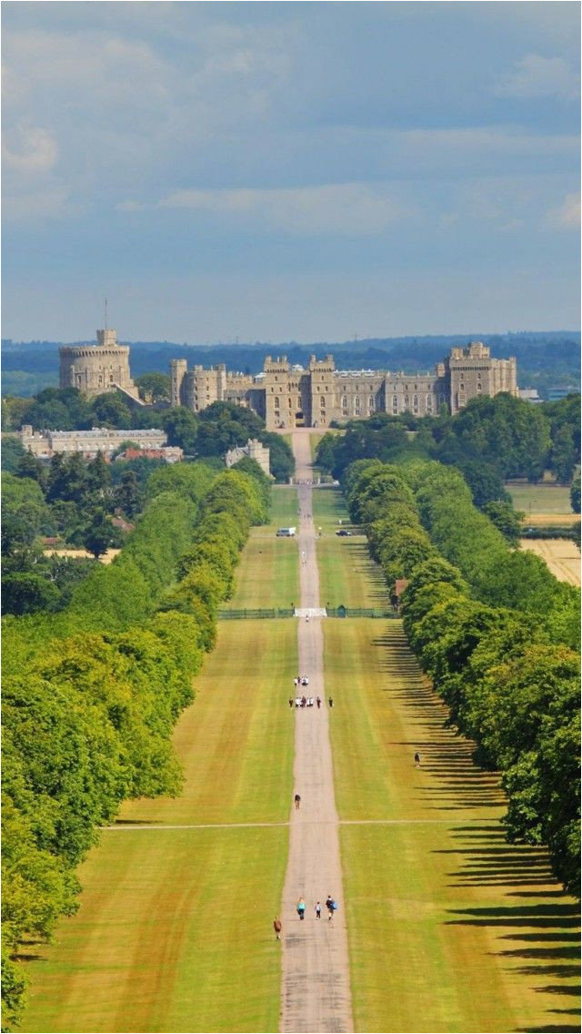 london landscape observer windsor castle and long walk