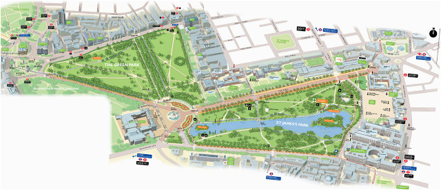 map of green park and st james s park london here we come st