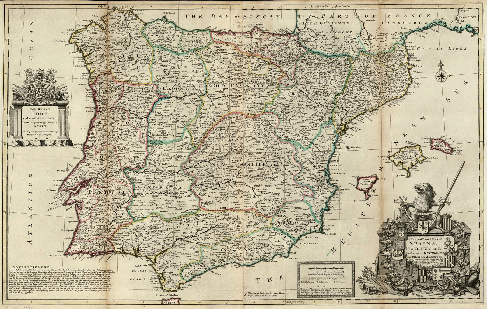file spain and portugal herman moll 1711 jpg wikimedia commons