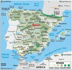 17 best maps images in 2015 maps map of spain cards