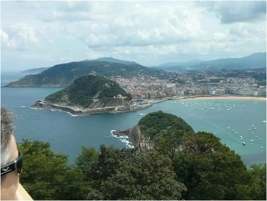 views of san sebastian from mount igueldo picture of monte igueldo