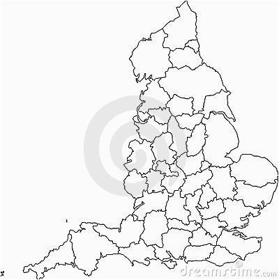 blank map of england counties historical homes and their