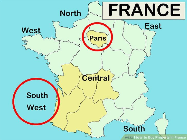 Maps Of France for Sale How to Buy Property In France 10 Steps with Pictures
