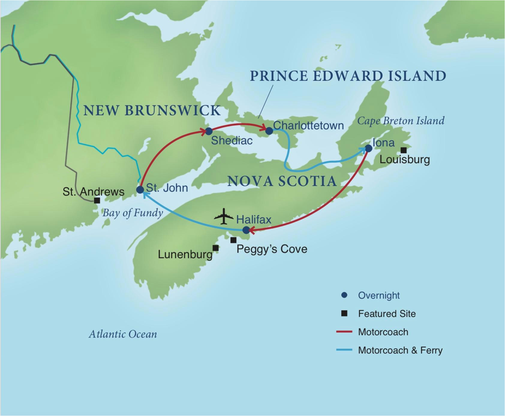 seascapes of the canadian maritimes smithsonian journeys