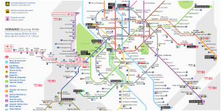 maps and essential guides of madrid