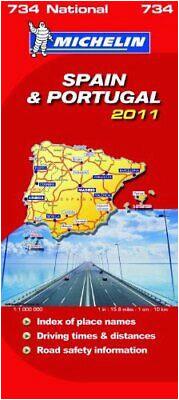 michelin map spain portugal michelin map 990 by michelin staff