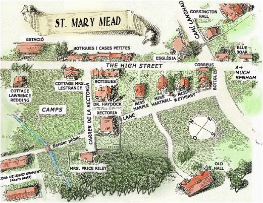 st mary mead the fictional village created by dame agatha christie