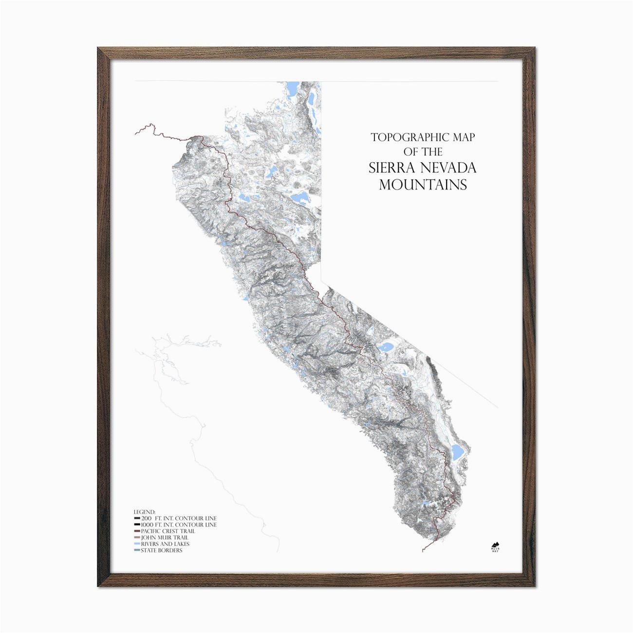 sierra nevada mountains range series