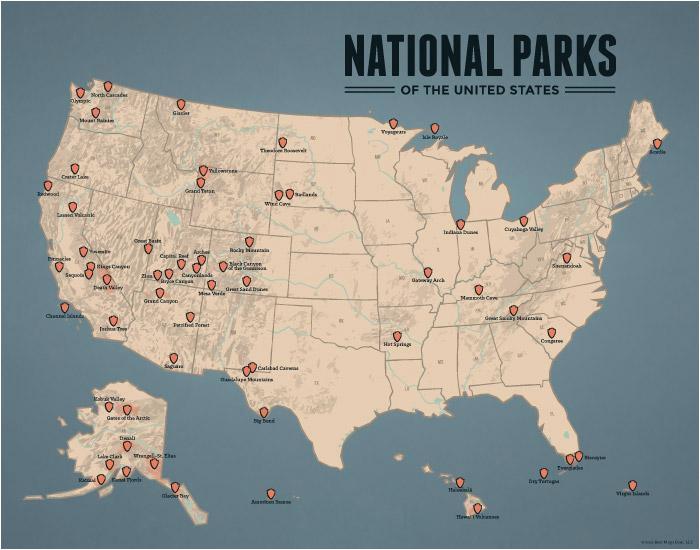 national parks best maps ever