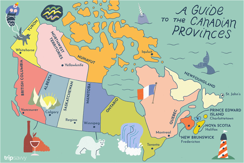 guide to canadian provinces and territories