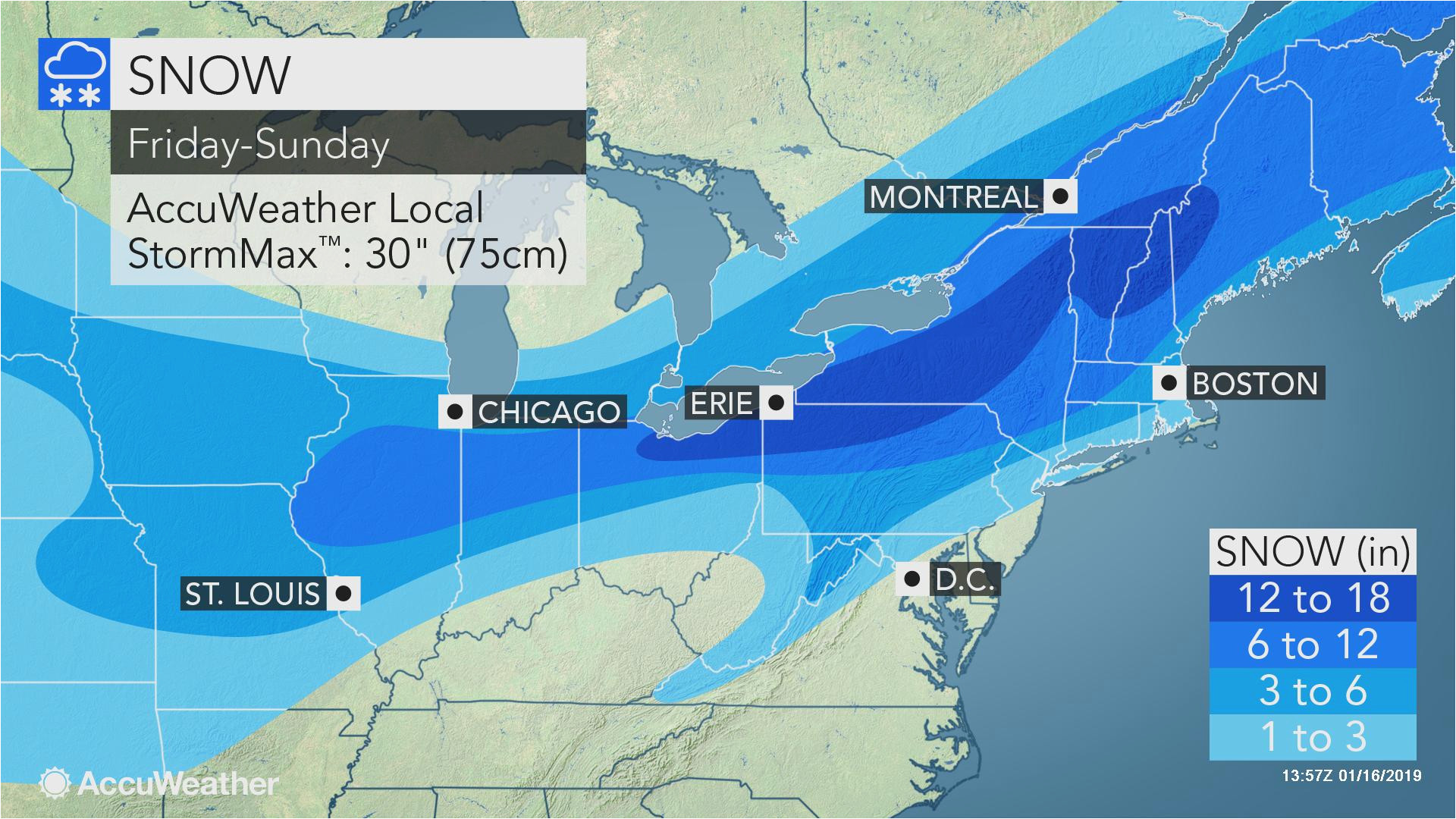 snowstorms to deliver one two punch to northeast this week