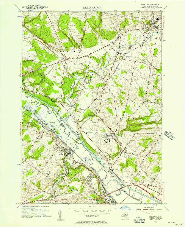 amazon com yellowmaps oriskany ny topo map 1 24000 scale