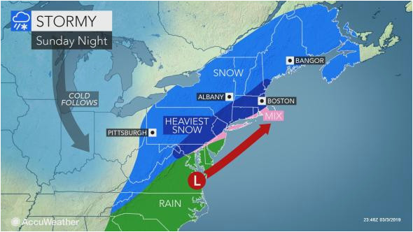 disruptive northeastern us snowstorm to continue into monday